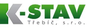 logo firmy K-STAV TØEBÍÈ, s.r.o.