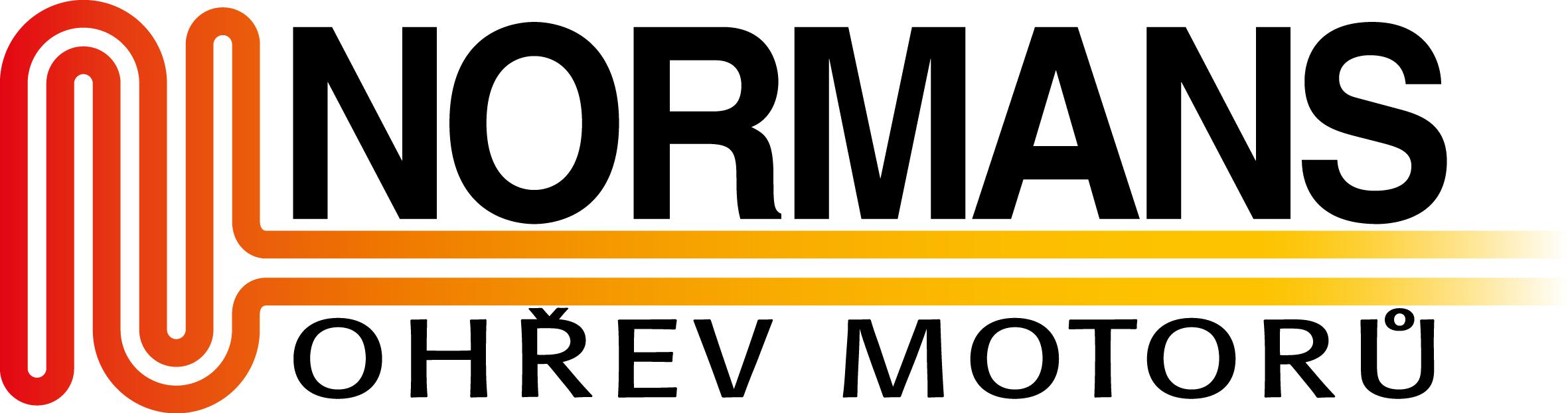 logo firmy Normans - ohøev motorù, s.r.o.