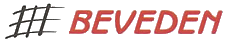 logo firmy BEVEDEN