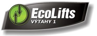 logo firmy VÝTAHY 1 - EcoLifts s.r.o.