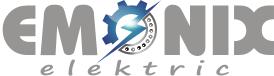 logo firmy EMONIX elektric s.r.o.