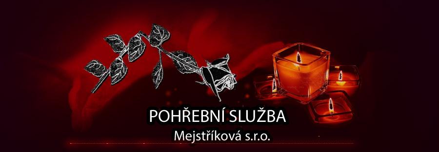 logo firmy MARIE MEJSTØÍKOVÁ-POHØEBNÍ SLUŽBA