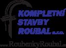 logo firmy KOMPLETNÍ STAVBY ROUBAL s.r.o.