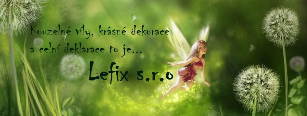 logo firmy LEFIX s.r.o.