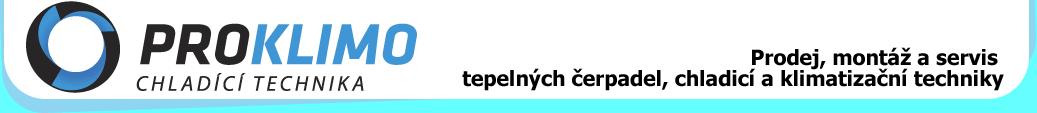 logo firmy PROKLIMO CHLADÍCÍ TECHNIKA s.r.o.