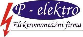 logo firmy P-elektro s.r.o.