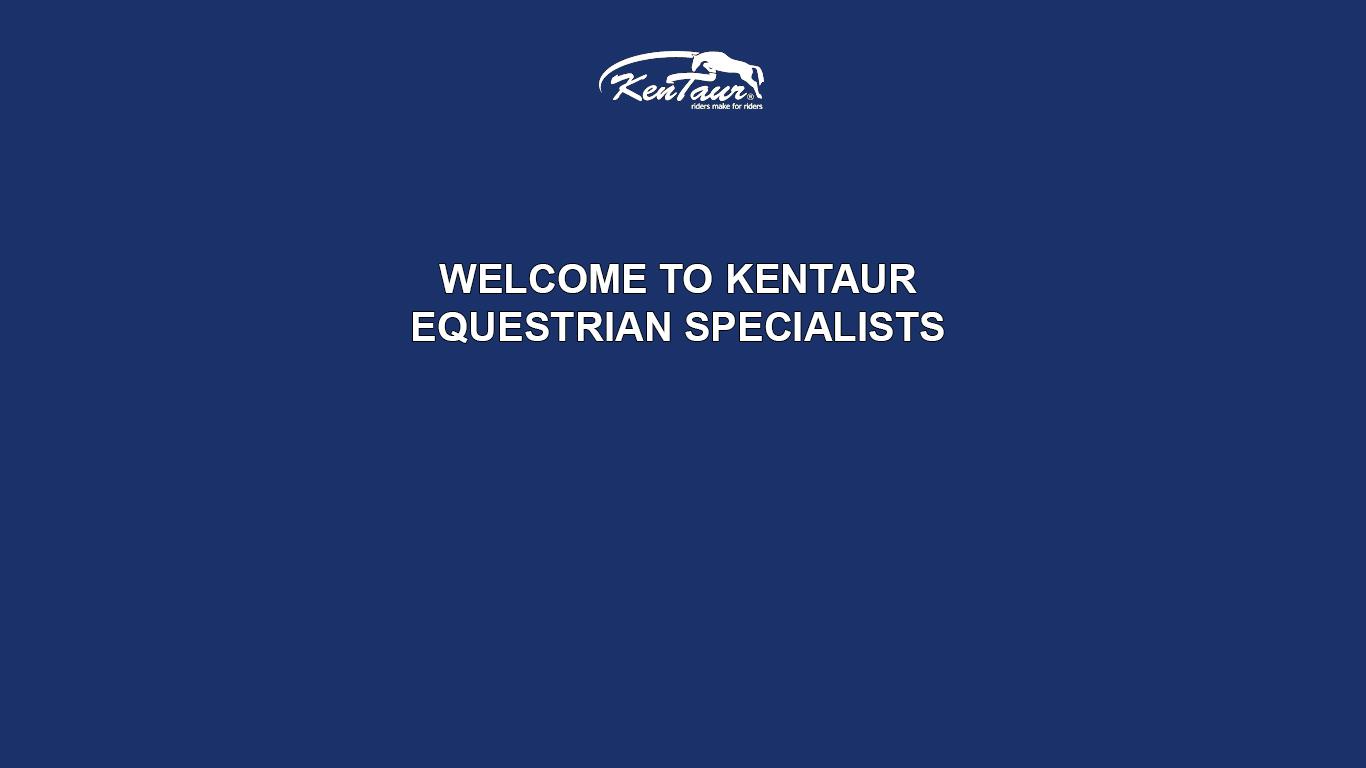 logo firmy KENTAUR Saddlery s.r.o.