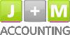 logo firmy J+M accounting s.r.o.