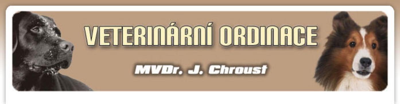 logo firmy MVDr. JIŘÍ CHROUST