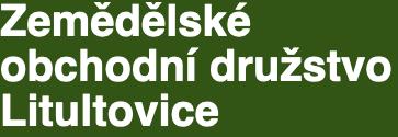 logo firmy ZEMĚDĚLSKÉ OBCHODNÍ DRUŽSTVO LITULTOVICE