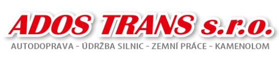 logo firmy ADOS TRANS