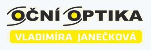 logo firmy OČNÍ OPTIKA - JANEČKOVÁ VLADIMÍRA