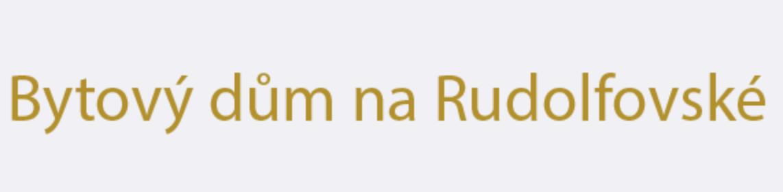 logo firmy Bytový dům na Rudolfovské