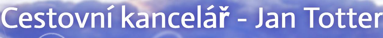 logo firmy CK Jan Totter - Cestovní kancelář