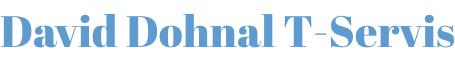 logo firmy T-Servis - David Dohnal