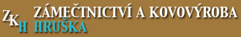 logo firmy Zámečnictví a kovovýroba HRUŠKA