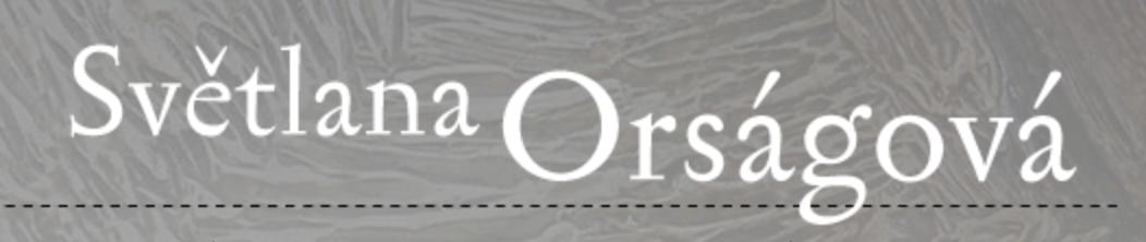 logo firmy Světlana Orságová - malířství, výtvarnictví