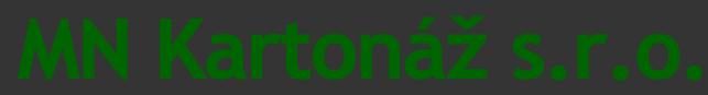 logo firmy MN - KARTONÁŽ s.r.o.