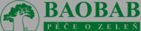 logo firmy BAOBAB - péče o zeleň s.r.o. Návrh, realizace zahrad a parků Praha