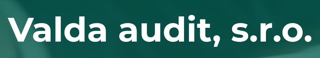 logo firmy Valda audit, s.r.o. účetnictví a audit Praha