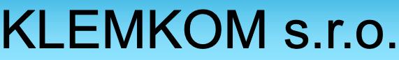 logo firmy KLEMKOM s.r.o.