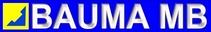 logo firmy BAUMA MB s.r.o.