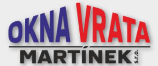 logo firmy Okna-vrata Martínek s.r.o.