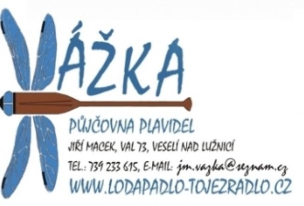 logo firmy Půjčovna plavidel Vážka