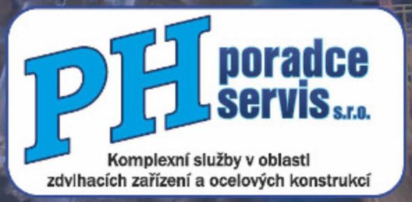 logo firmy PH poradce servis s.r.o.