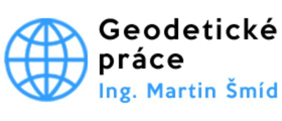 logo firmy Geodetické práce – Ing. Martin Šmíd
