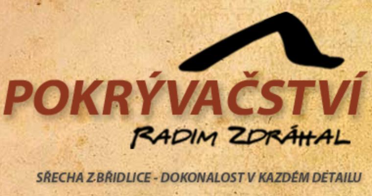 logo firmy POKRÝVAČSTVÍ Radim Zdráhal