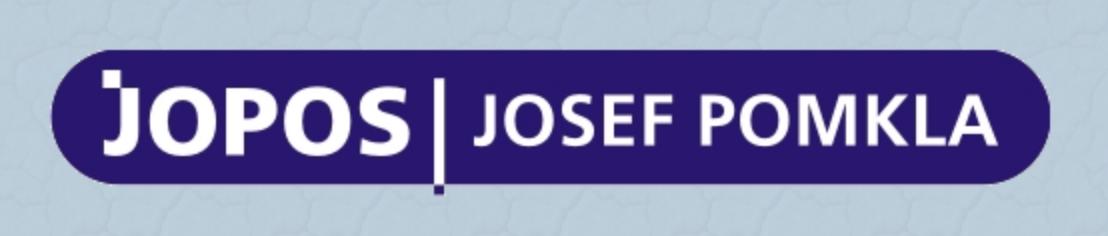 logo firmy Josef POMKLA – JOPOS