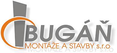 logo firmy BUGÁŇ MONTÁŽE A STAVBY s.r.o.