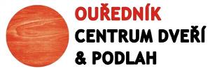 logo firmy OUŘEDNÍK CENTRUM DVEŘÍ & PODLAH, maloobchod s.r.o.
