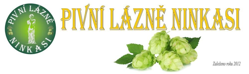 logo firmy Pivní lázně NINKASI