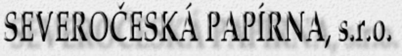 logo firmy SEVEROČESKÁ PAPÍRNA, s.r.o.