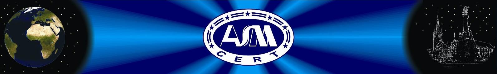 logo firmy ASMcert, s.r.o.