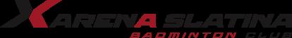 logo firmy Xarena Slatina Badminton Club