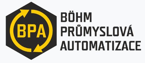 logo firmy Böhm průmyslová automatizace s.r.o.