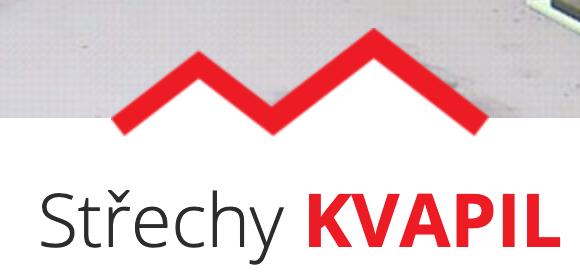 logo firmy Střechy Kvapil