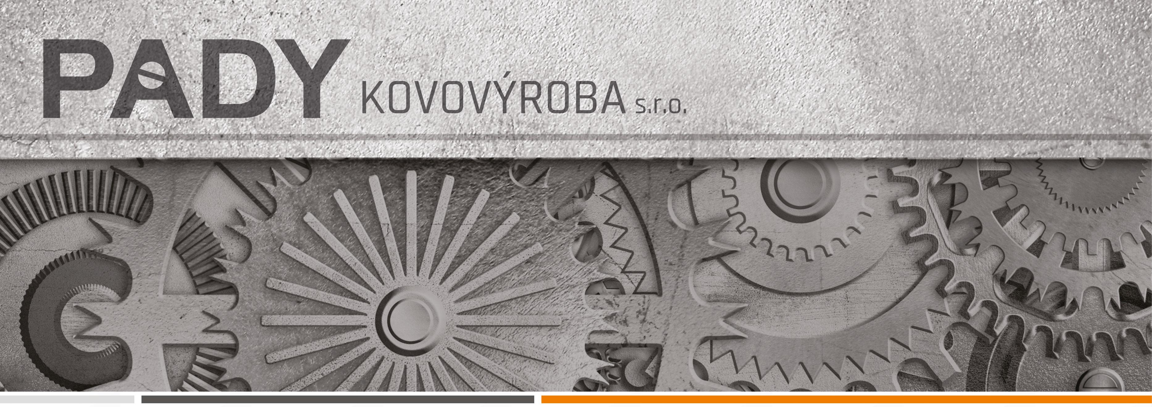 logo firmy PADY kovovýroba s.r.o.