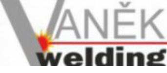 logo firmy Vaněk Welding s.r.o.