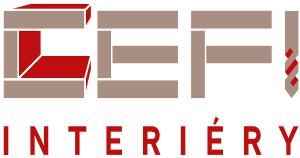 logo firmy INTERIÉRY - CEFI s.r.o.