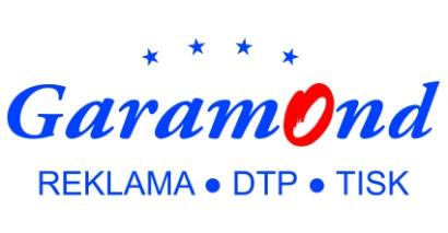 logo firmy Garamond Terezie Matošková