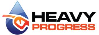 logo firmy heavy progress s.r.o.