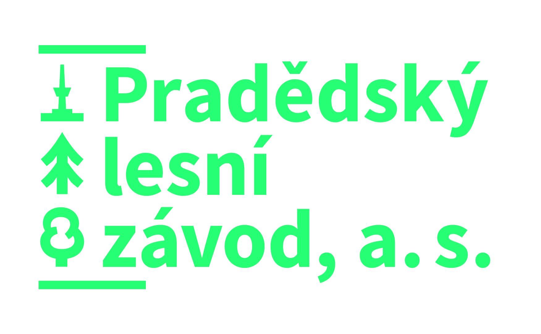 logo firmy Pradědský lesní závod, a.s.