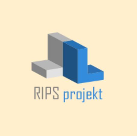 logo firmy RIPS projekt s.r.o.