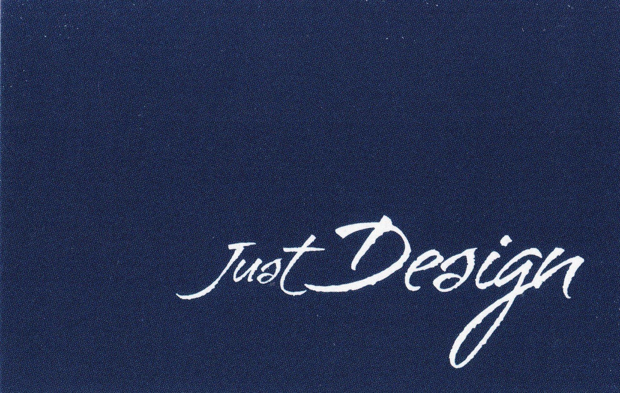 logo firmy Jiří Just - Zakázková výroba nábytku