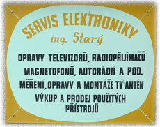 logo firmy Ing. Milan Starý SERVIS ELEKTRONIKY