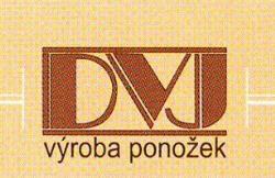 logo firmy DVJ - VÝROBA PONOŽEK